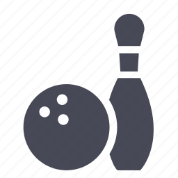 bowling, game, play icon