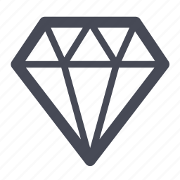 diamond, diamonds, jewellery icon