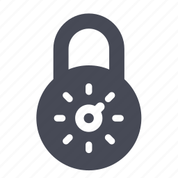 lock, password, safe, secure, security, unlock icon
