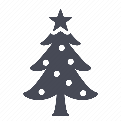 Christmas Tree Facebook Icon: Christmas, Gift, New Year, Tree Icon