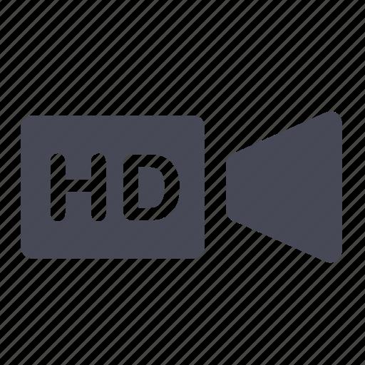 camera, film, hd, movie, play, recording, video icon