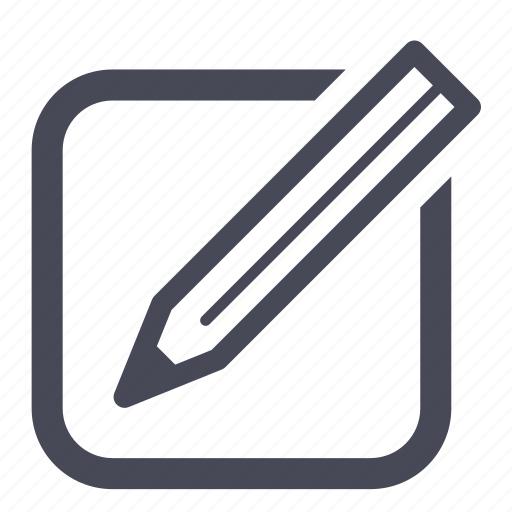 compose, document, edit, new, pencil, write icon