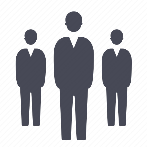 Group, man, people, male, users, business icon