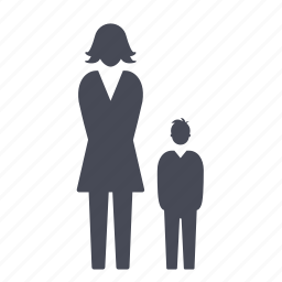 child, family, female, group, man, people, woman icon