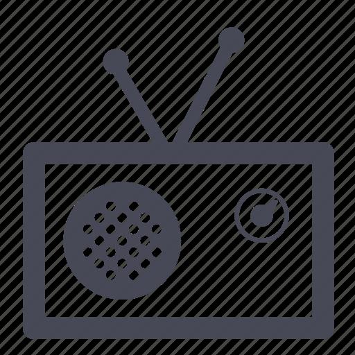 audio, music, play, radio, tivoli icon