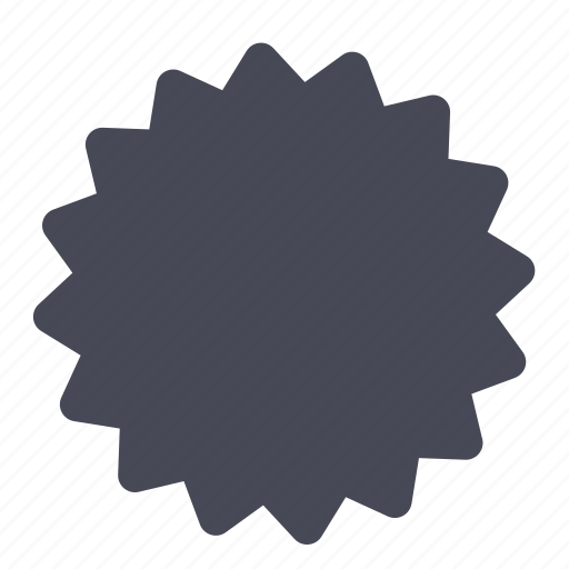 Shape, badge, sticker icon