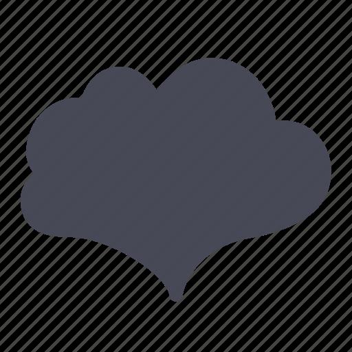 badge, bubble, cloud, sticker icon
