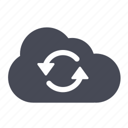 cloud, reload, sync icon