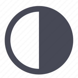 brightness, contrast, visibility icon