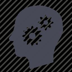 brain, mind, thinking icon
