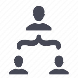 connection, connections, hierarchy, relations, social icon
