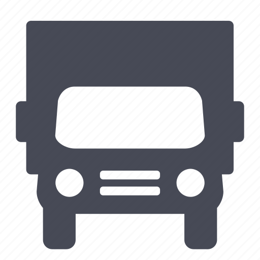 moving, traffic, transport, transportation, van, vehicle icon