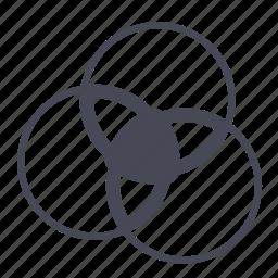 color, transparency, wheel icon