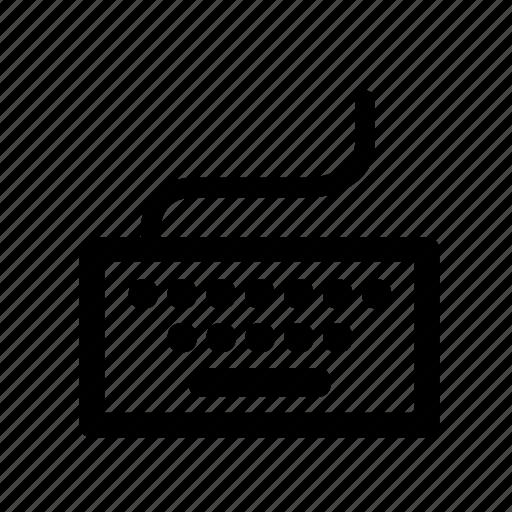 hardware, i/o, input, keyboard, keys, peripherals icon