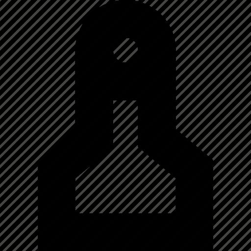 body, female, human, person, silhouette, woman icon