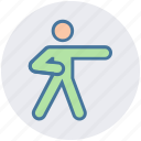 arts, exercise, judo, martial, stance, taekwondo, yoga icon