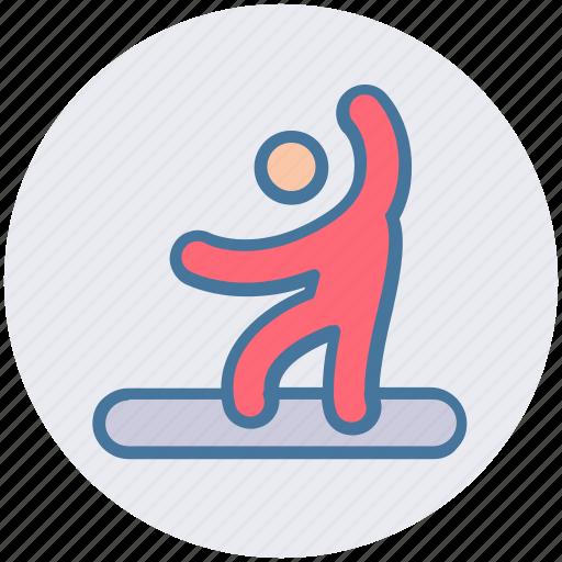 Man, person, skurfing, sport, surfer, water, water sport icon - Download on Iconfinder