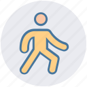 exercise, gym, man, open, spread, stretching, yoga icon