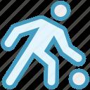 basketball, dribbling, game, man, moving, player, running icon