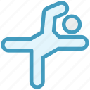 karate, karate man, karate player, kick, ninja fight icon