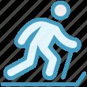ice skater, ice skating, ice sports, ski, ski jump, skier, skiing icon