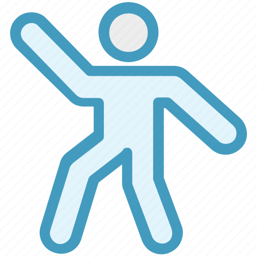 exercise, fitness, training, workout, yoga icon