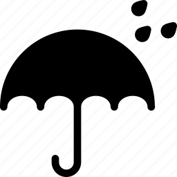 no, rain, umbrella, water, wetting icon