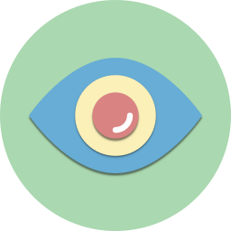 explore, eye, find, glass, look, view, vision icon