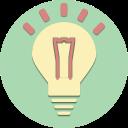 lamp, electricity, energy, idea, light, plug, power