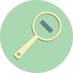 delete, explore, magnifier, minus, search, seo, view icon