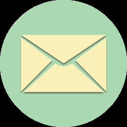 communication, envelope, inbox, letter, mail, message, send icon
