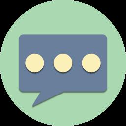 bubble, chat, comment, communication, message, talk, text icon