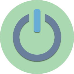 configuration, control, energy, off, on, power, settings icon