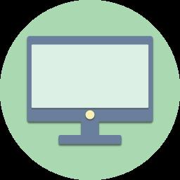 computer, desktop, hardware, internet, mac, monitor, pc icon