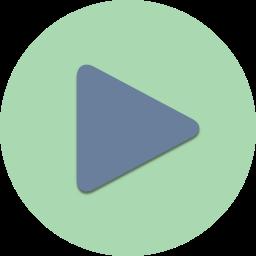 control, film, media, movie, multimedia, play, player icon