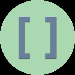 brackets, code, coding, development, programming, square, website icon