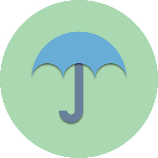 cloud, forecast, protection, rain, security, umbrella, weather icon