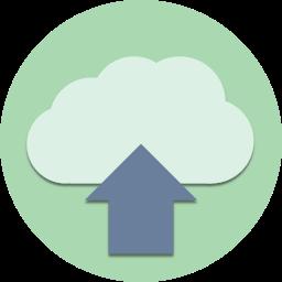 cloud, data, database, download, save, storage, upload icon