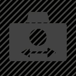 auto, camera, closeup, mode, movie, program, video icon