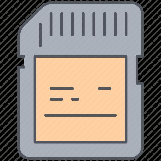 card, external, memory, photo memory, photography, sim card icon