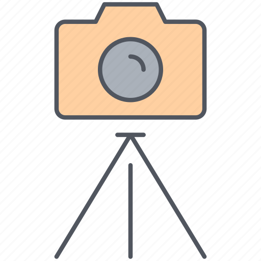 digital, equipment, image, photo, photography, picture, tripod icon