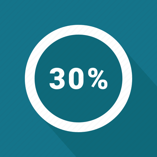 Graphic, info, percent, thirty icon - Download on Iconfinder