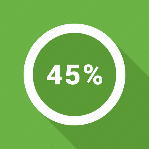 Five, forty, percent, percentage icon - Download on Iconfinder