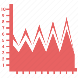 analytics, bars, chart, diagram, report, results icon