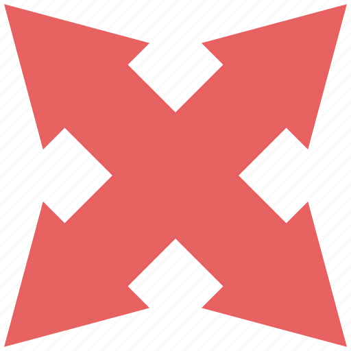 arrow, double, down, left, right, up icon