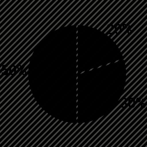 pie, pie chart, pie graph, pie statistics icon