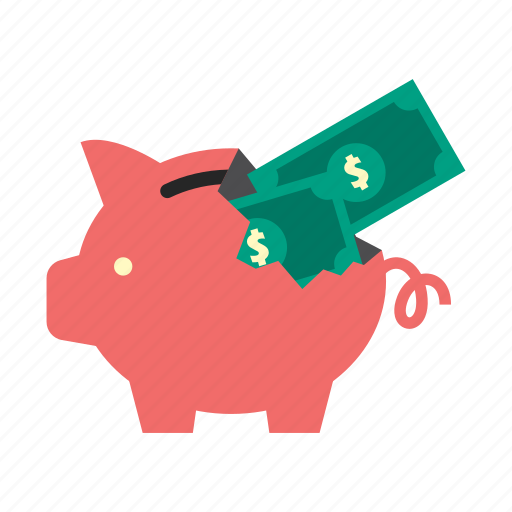 bank, dollar, finance, money, piggy, saving, storage icon