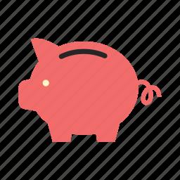 bank, economy, finance, money, piggy, saving, storage icon