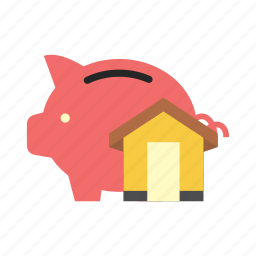 bank, finance, house, money, piggy, saving, storage icon