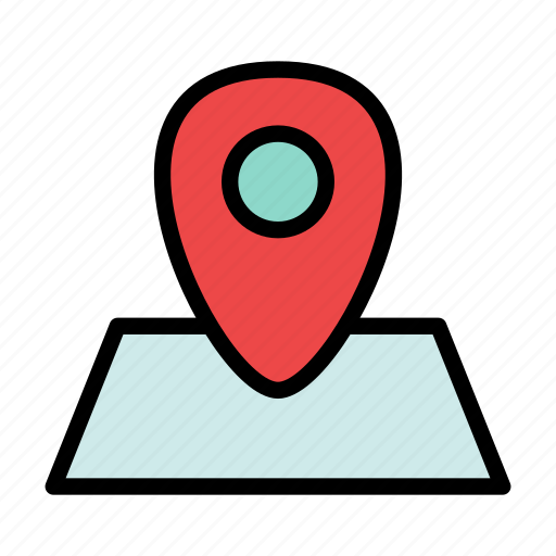 geo, location, map, navigation, pin icon